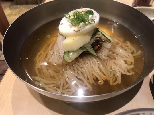 冷麺(小)@冷麺館鶴橋店