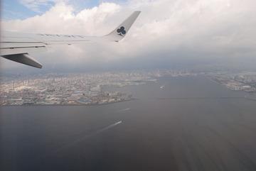 神戸を離陸-2