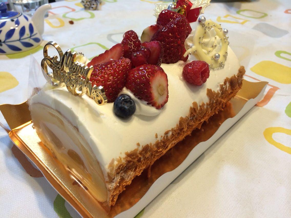 【クリスマスケーキ】「堂島ロール」のロールケーキ