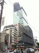 20120602近鉄阿部野橋ターミナル建設工事進捗状況
