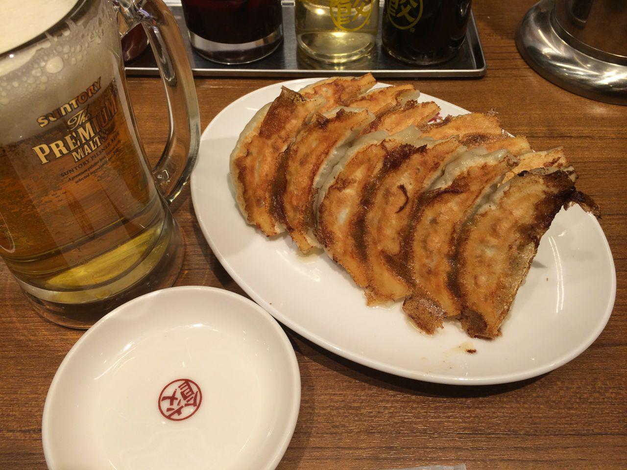 元祖焼餃子@大阪王将道頓堀本店-2