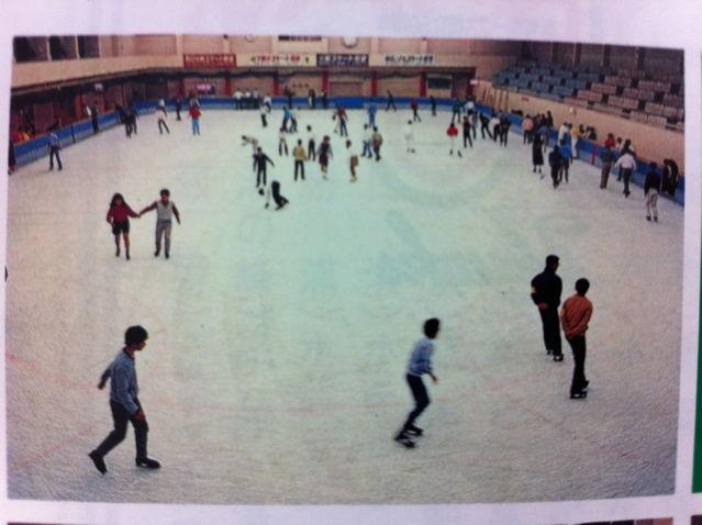 大阪球場スケートリンク