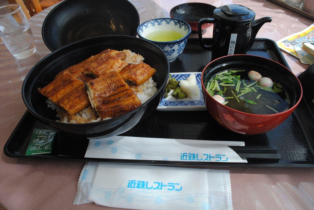 鰻丼@浜名湖近鉄レストラン-1