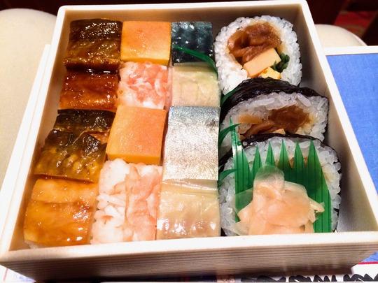 「古市庵(こいちあん)」の大阪寿司
