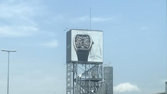 高級腕時計「フランクミュラー(FRANK MULLER)」看板