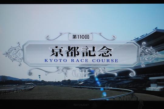 第110回京都記念@京都競馬場