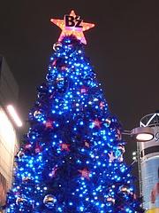 B'z クリスマスツリー2008 (ハチ公広場) 夜景編 1