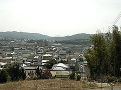 川崎八幡神社最上階から眺め
