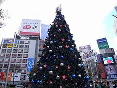 B'z クリスマスツリー2008 (渋谷駅前ハチ公広場) 昼間編  6