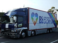 「B'z LIVE-GYM Pleasure 2008 -GLORY DAYS-」ツアートラック ver.1-1 5