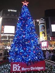 B'z クリスマスツリー2008 (渋谷 ハチ公広場) 2