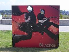 「B'z LIVE-GYM Pleasure 2008 -GLORY DAYS-」豊田スタジアム   フォトオポチュニティー 2