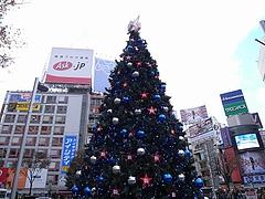 B'z クリスマスツリー2008 (渋谷駅前ハチ公広場) 昼間編  8
