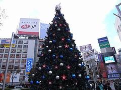 B'z クリスマスツリー2008 (渋谷駅前ハチ公広場) 昼間編  10
