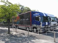 「稲葉浩志 LIVE 2010〜enII〜」 ツアートラック in 大阪城ホール 11