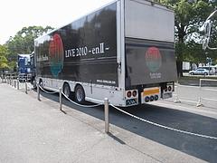 「稲葉浩志 LIVE 2010〜enII〜」 ツアートラック in 大阪城ホール 3