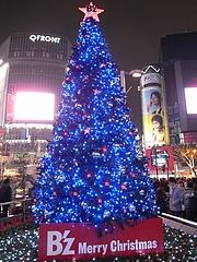 B'z クリスマスツリー2008 (渋谷 ハチ公広場) 3