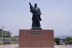 長崎県 岩崎弥太郎像