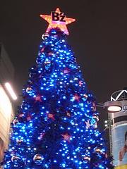 B'z クリスマスツリー2008 (ハチ公広場) 夜景編 2