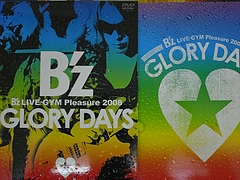 DVD『B'z LIVE-GYM Pleasure 2008-GLORY DAYS-』のパッケージ 4