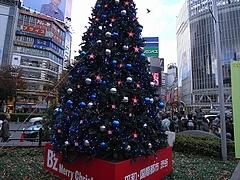 B'z クリスマスツリー2008 (ハチ公広場) 昼間編 3