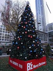 B'z クリスマスツリー2008 (渋谷駅前 ハチ公広場) 昼間編  17