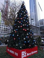 B'z クリスマスツリー2008 (渋谷駅前 ハチ公広場) 昼間編  15