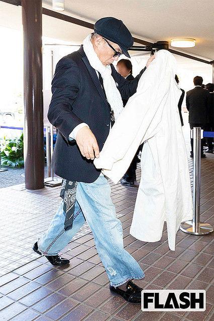 【周囲騒然】内田裕也さんお別れ会に田代まさし登場www