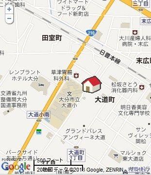 パリア岩尾P地图