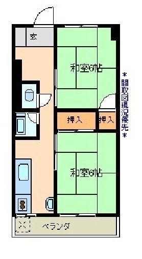 倉橋アパート間取図