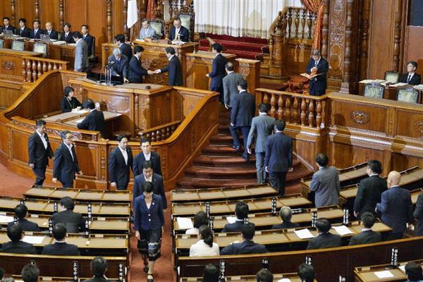 安保法案、自民・公明両党の賛成多数で成立