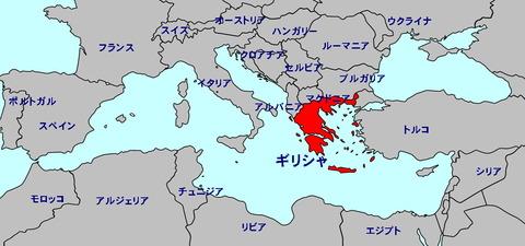 Grrece Map