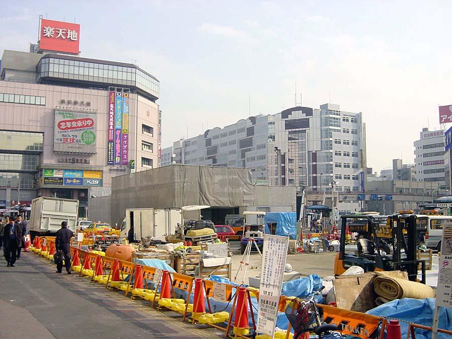 2002年12月25日JR錦糸町駅前 : ...