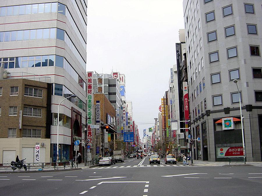 2002年2月10日新宿 : 東京風景貯...