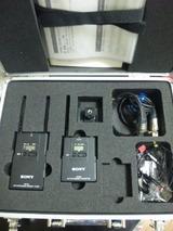 ソニー業務用ワイヤレスマイク(UWP-V1)