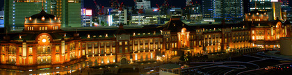 The_night_view_of_Tokyo_station