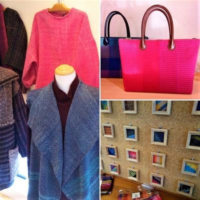 手織り工房まんさく 早春の作品展