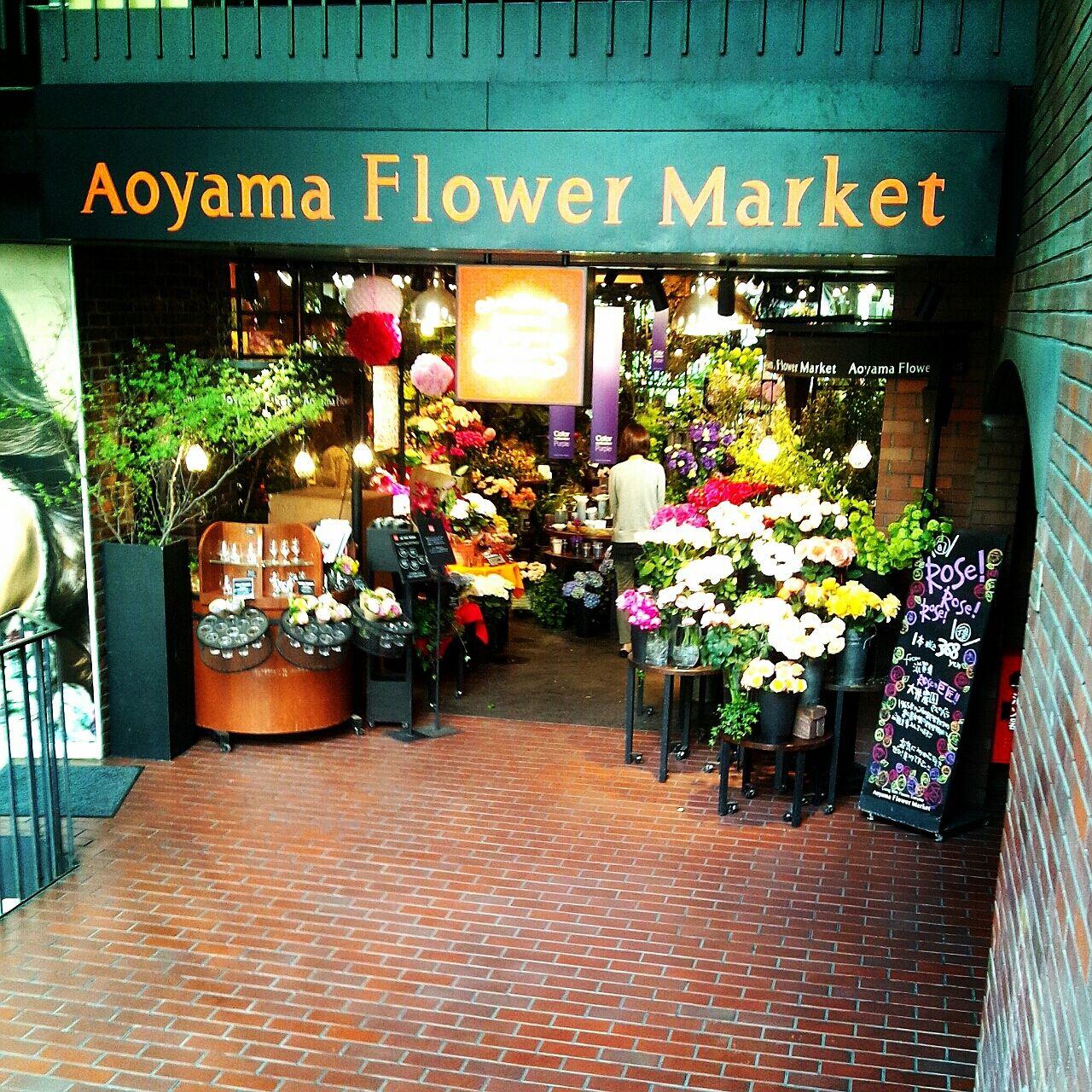 フラワー マーケット 青山