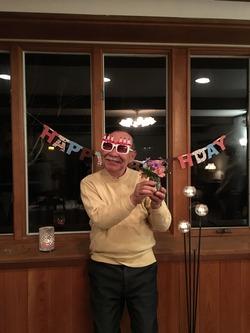 誕生会71歳