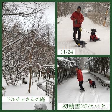 28年初積雪