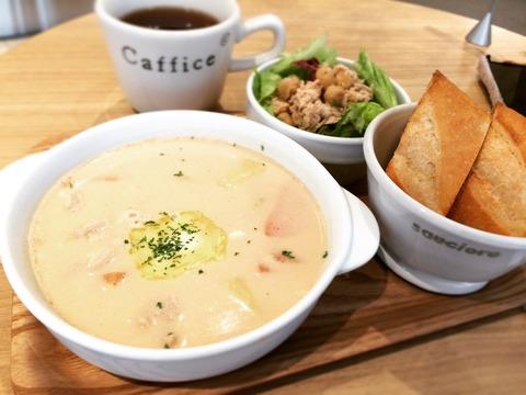 20160229豚とジャガ芋の味噌バターミルクスープ