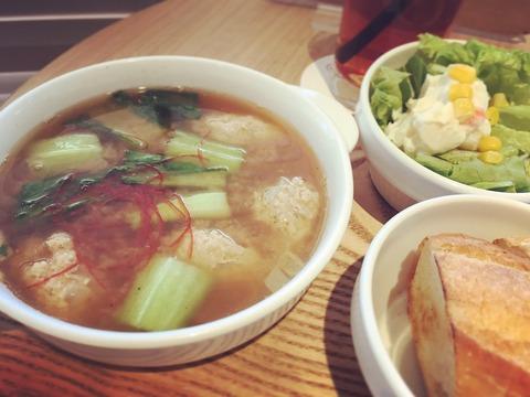 160411肉団子の豚汁風スープ