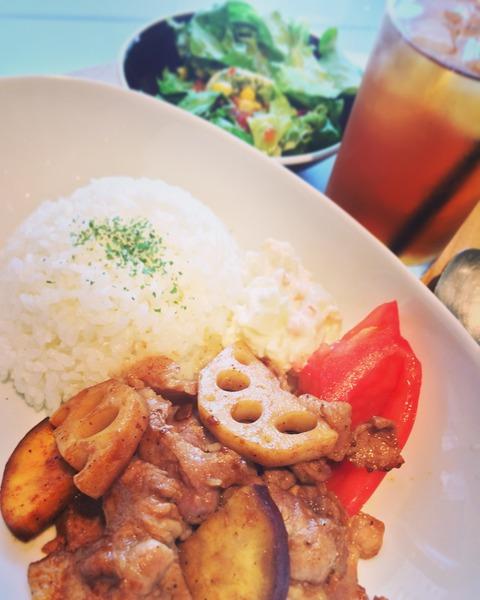 160711豚肉と根菜のオイスターマヨ炒め