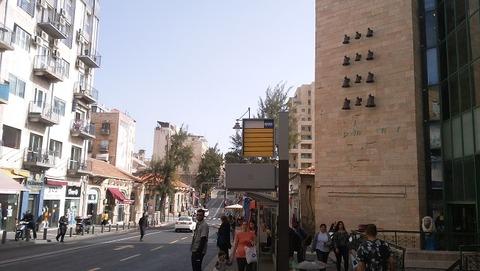 イスラエル-エルサレム新市街02