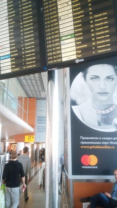 モスクワシェレメチェボ空港
