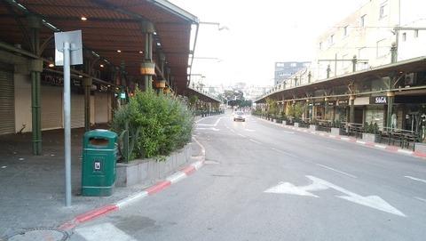イスラエル-ティベリヤ中心街(安息日ヤルデニット)