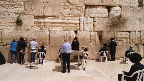 イスラエル-嘆きの壁