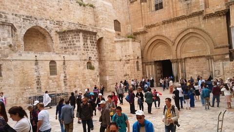 イスラエル-聖墳墓教会