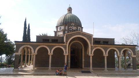 イスラエル-山上の垂訓教会