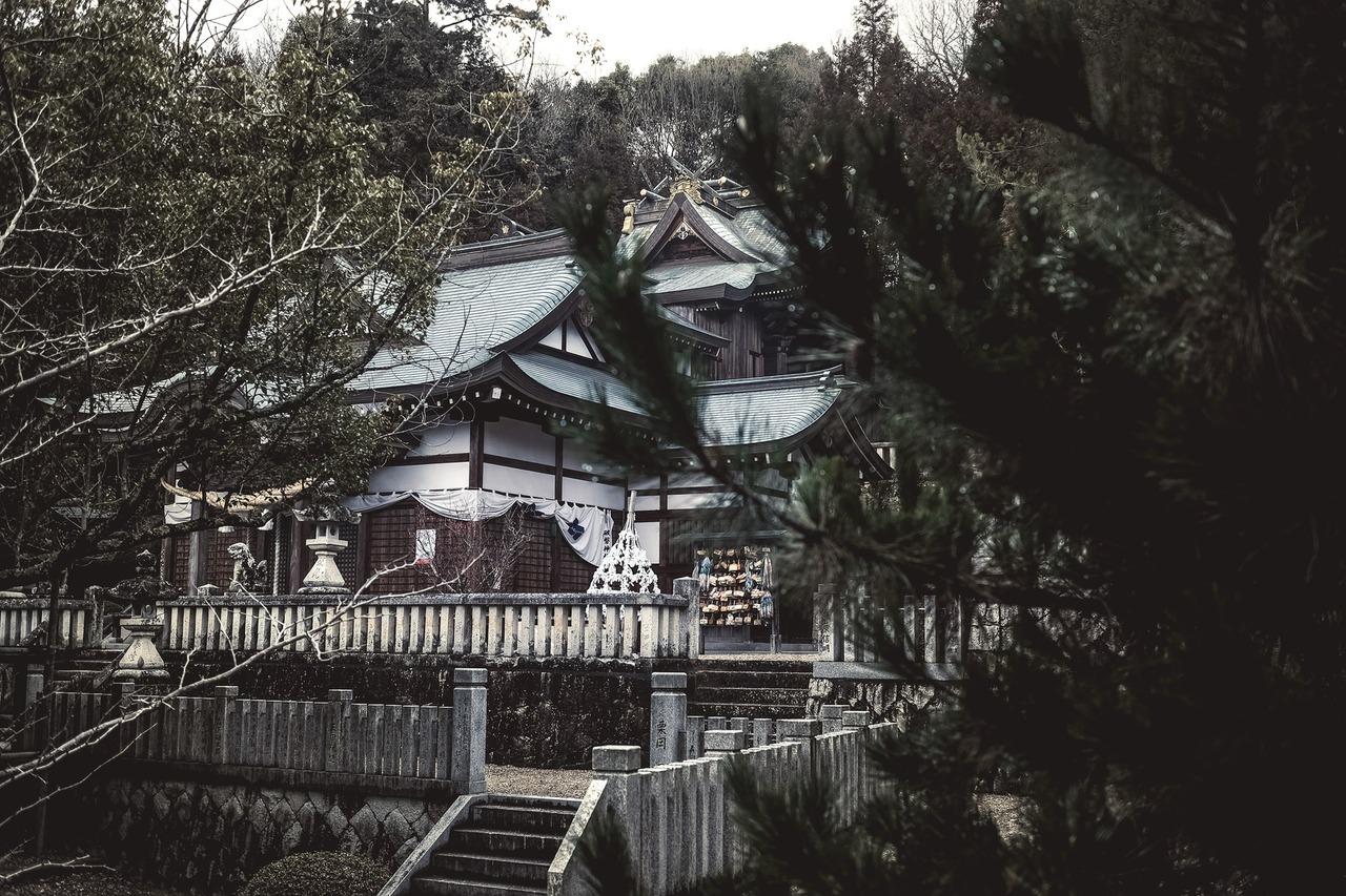 破磐神社 姫路 西脇 パワースポット X-T10
